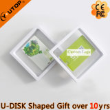 Company Logo Gift Card USB Stick with Suspended Box (YT-3101)