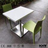 Kingkonree High Quality Modern Chairs Solid Surface Dinner Table