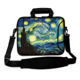 """17"""" Neoprene Laptop Bag Carrying Bag Computer Sleeve Case with Strap for Mac PRO/ HP"""