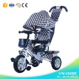 Kids Tricycle with Push Bar Mother Baby Stroller Bike for Sale in China