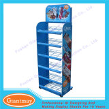 Durable Metal Floor Standing Wire Potato Chips Display Rack