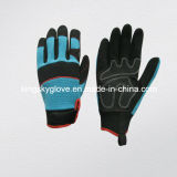 Synthetic Leather Mechanic Work Gloves (7221)