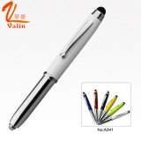 Multi Color LED Light Metal Pen for Business People