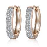 New Design Ladies Fashion Cubic Zirconia Earring Jewelry