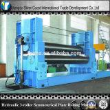 Yq W11y Type Hydraulical 3-Roller Symmetrical Plate Rolling Machine