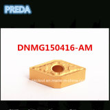 ISO Turning Carbide Tips Dnmg150416-Am for Cutting Metal