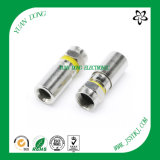 RG6 Cable Compression Type F Male Connector CATV Connector