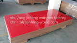 1220*2440mm Red Color High Gloss UV MDF