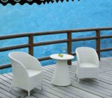 Outdoor Furniture Rattan Chair. and Rattan Table