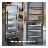 Metal Display Racks PVC Foam for Cosmetic Display