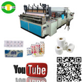 Punch Embossed Converting Toilet Small Paper Roll Machine