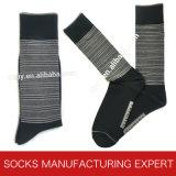Men′s Plain Color of Cotton Sock