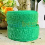 Nylon Hook & Loop for Curtains in Green Color