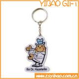 High Quality Custom Logo PVC Keychain for Gifts (YB-k-036)