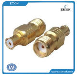 SMA Female to SMP Max Female RF Coaxial Adapter