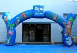 Factory Custom Advertising Inflatable Arch (AC010)
