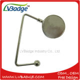 Custom Fashion Metal Blank Round Purse Bag Hanger