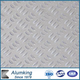 Pre-Cutted Checkered Aluminium Plate for Building Decoration