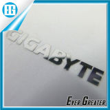 Chrome Metal Logo Sticker with ISO/Ts16949 Certified