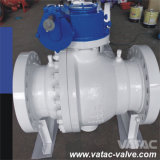 2 or 3 Piece Trunnion Ball Valve with Pressure 150lb, 300lb, 600lb