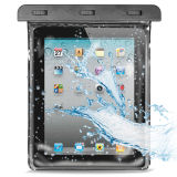 """Ipx8 PVC Waterproof 10"""" Tablet Case with Hand Strap (YKY7235-2)"""