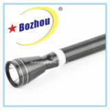 Rechargeable LED Flash Light, 3W CREE Bright Long Range Portable Aluminum Torch