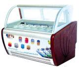 Ice Cream Popsicle Gelato Display Cabinet Freezer