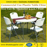 Plastic Outdoor Folding Table for Wedding Party Banquet