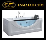 Modern-Style Double-Person Acrylic Massage Bathtub (MG-510)