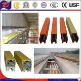 Single Polar Crane Conductor Bar System Copper Aluminum Conductor Rail