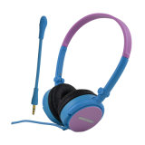 Promotional Bulk Cheap Wired Headphones Various Color Headset From Factory