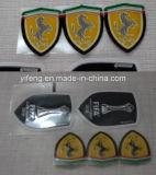 Flock Heat Press Stickers Transfer Badge for Sportswear