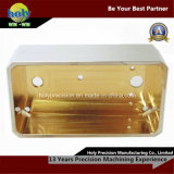 CNC Machining Brass Boxes with Polished