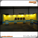 Light Weight Aluminum PVC Pop up Booth with LED Lights