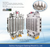 72 Cavity Pet Plastic Preform Mold with Hot Runner Injection Plastic Preform Mould