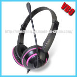 Colorful Computer Headphones with 3.5mm Jack (VB-9319M)