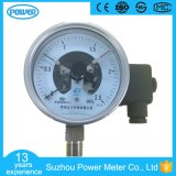 100mm Electric Contact All Stainless Steel Pressure Gauge Manometer