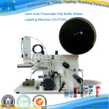 Semi-Auto Pneumatic Flat Bottle Sticker Labeling Machine (Gh-P150)
