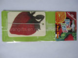 Fruit Strawberry Fragrance Paper Car Air Freshener