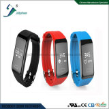 2017 Hot Selling Continuous 24 Hours Monitoring Heart Rate Mult-Function Smart Bracelet in Line with Ce, RoHS, FCC Standard
