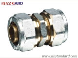 Brass Compression Fittings/Plumbing Fitting/Nipple/Straight/Coupling/Fitting