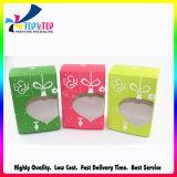 Soft Paper Packaging Plastic Window Box