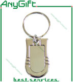 Zinc Alloy Keychain with Customized Laser Engraved Logo