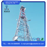 Hot DIP Galvanized Angle Steel Lattice Tower with 4 Legs