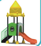 2015 Hot Selling Outdoor Playground Slide with GS and TUV Certificate (QQ14026-2)