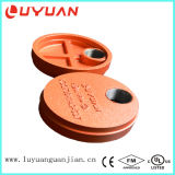 Ductile Iron Casting Pipe Cap End with Hole for Plubing Joining