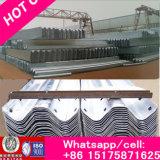 Rich Flexible Metallic Highway Guardrail, Q235 Galvanized Steel Metal Beam Road Crash Barrier, Highway Traffic Barrier