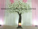Hot Sale White Artificial Fake Handmade Sakura Cherry Blossom Tree for Outdoor Indoor Decoration