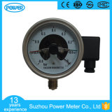 4′′ 100mm All Stainless Steel Electric Contact Pressure Gauge