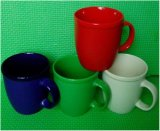 11 Oz Excellent Quality Color Glazed Ceramic Mug & Coffee Mug